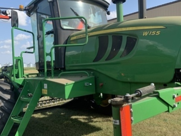 2019 John Deere W155 Self-Propelled Windrowers and Swather