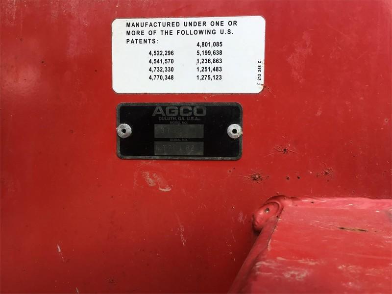 2008 Massey Ferguson 3732 Manure Spreader