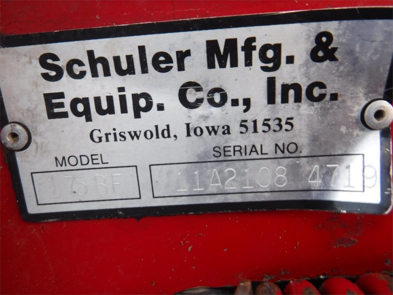 Schuler 175BF Grinders and Mixer