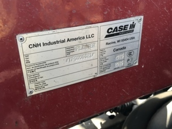 2016 Case IH Precision Disk 500T Air Seeder