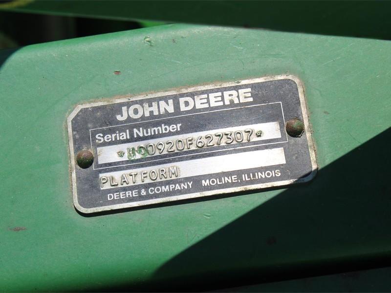 John Deere 920 Platform