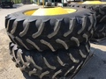 John Deere GY 520/85R42 combine dual set Wheels / Tires / Track