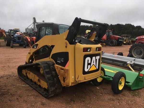 2010 Caterpillar 299C Skid Steer
