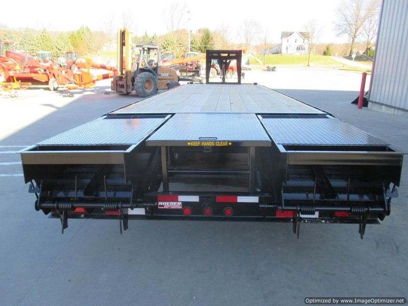 2020 Mustang 81/2 X 30' GN FLATBED TRAILER Flatbed Trailer