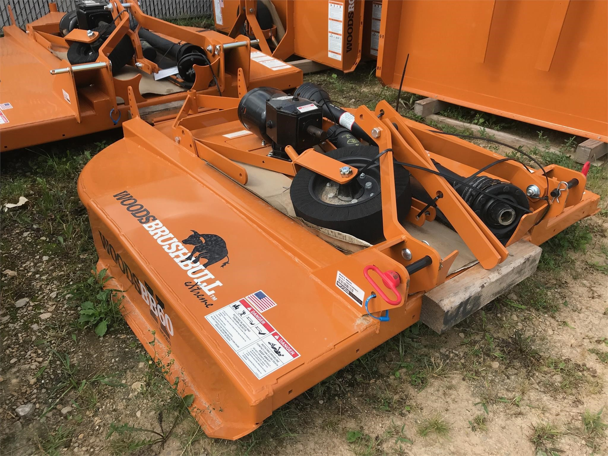 2019 Woods BB60XC Rotary Cutter