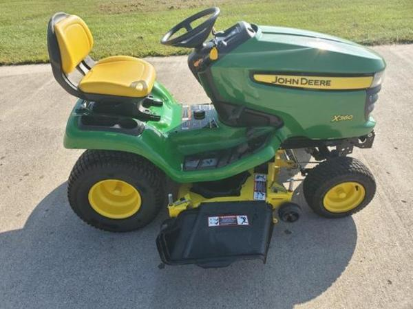 John Deere X360 Lawn And Garden For Machinery Pete