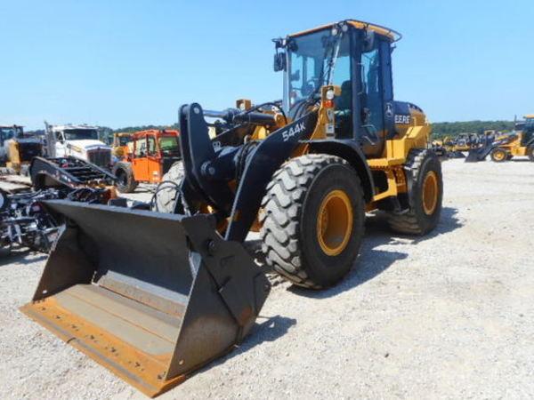 2013 Deere 544K Wheel Loader