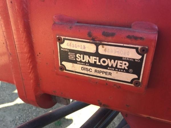 Sunflower 4411 Disk Chisel