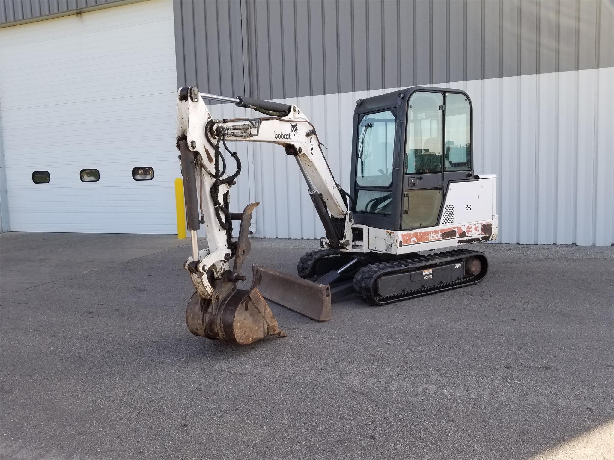 1997 Bobcat 331X Excavators and Mini Excavator