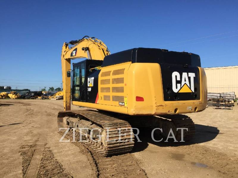 2015 Caterpillar 349F Excavators and Mini Excavator