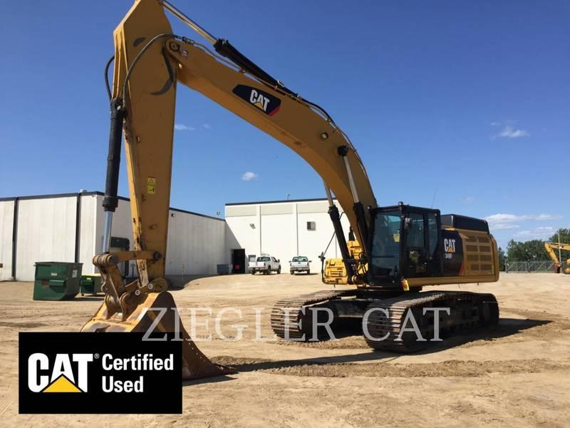 2016 Caterpillar 349F Excavators and Mini Excavator