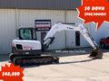 2012 Bobcat E80 Excavators and Mini Excavator
