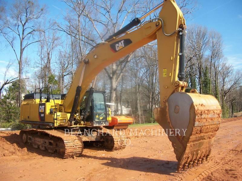 2018 Caterpillar 349FL Excavators and Mini Excavator