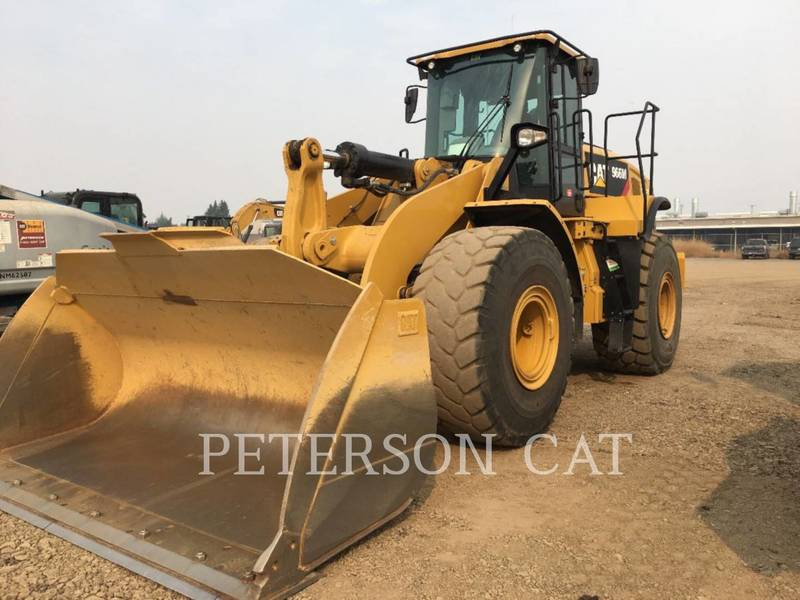 2017 Caterpillar 966M Wheel Loader