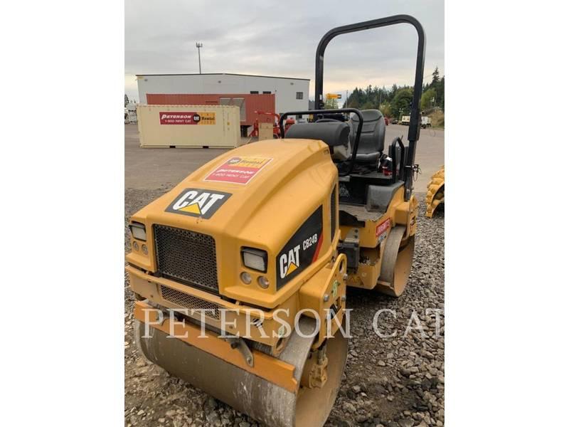 2018 Caterpillar CB24B Compacting and Paving