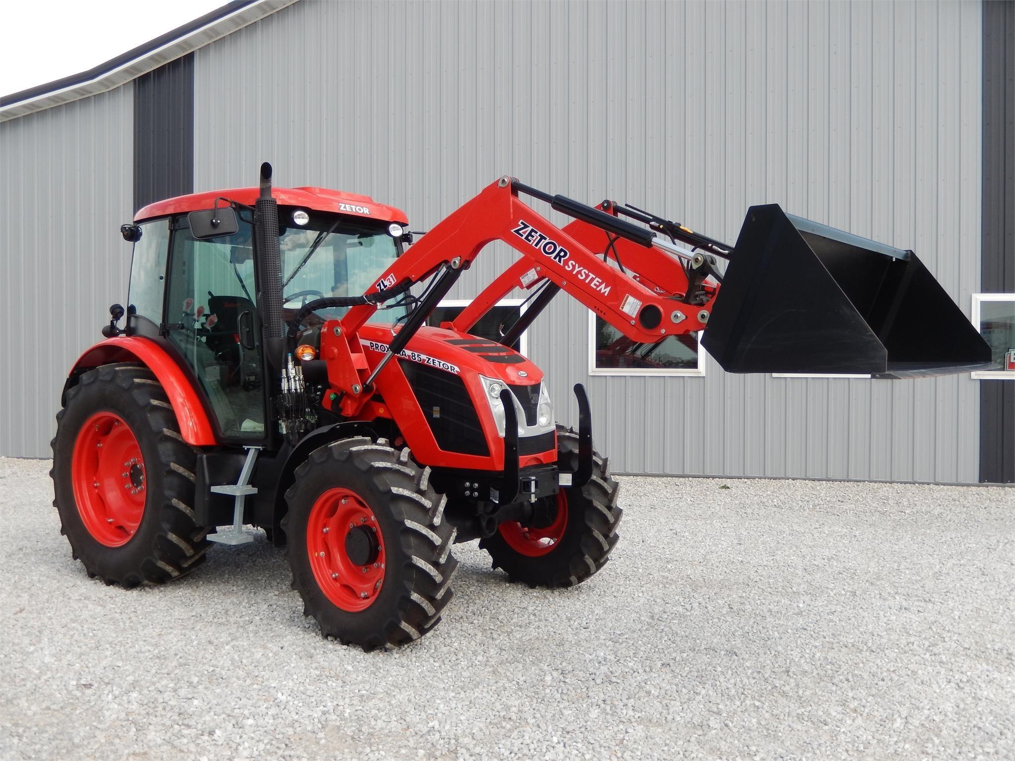2018 Zetor Proxima 85 Tractor