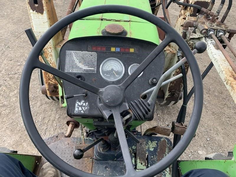 1981 Deutz D 6806 Tractor