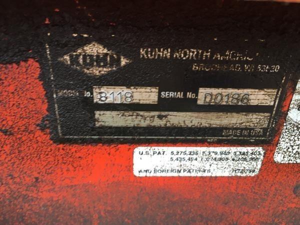 Knight 8124 Manure Spreader