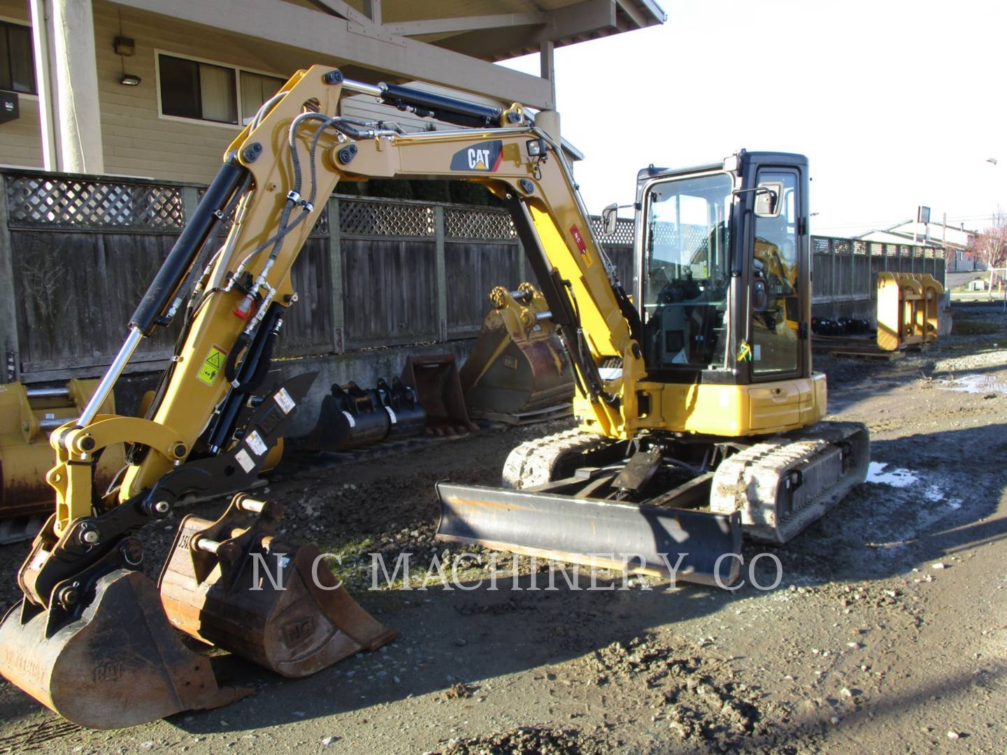 2017 Caterpillar 305E2 CRCB Excavators and Mini Excavator