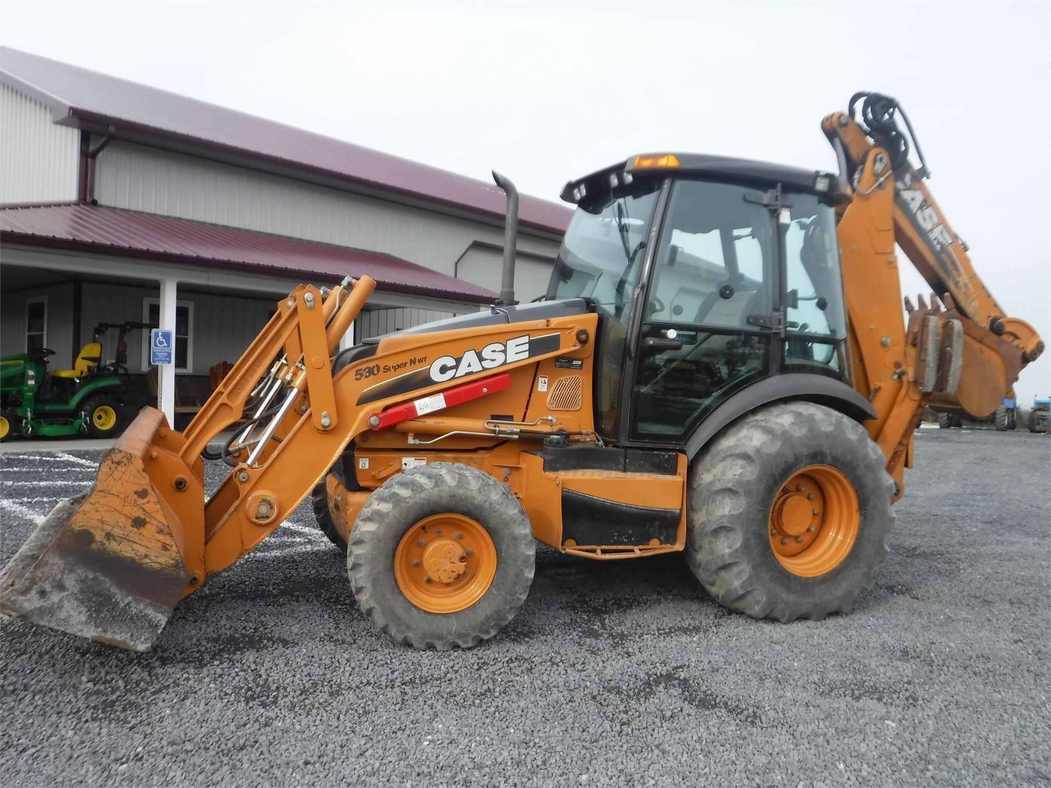 2011 Case 580SN WT Backhoe