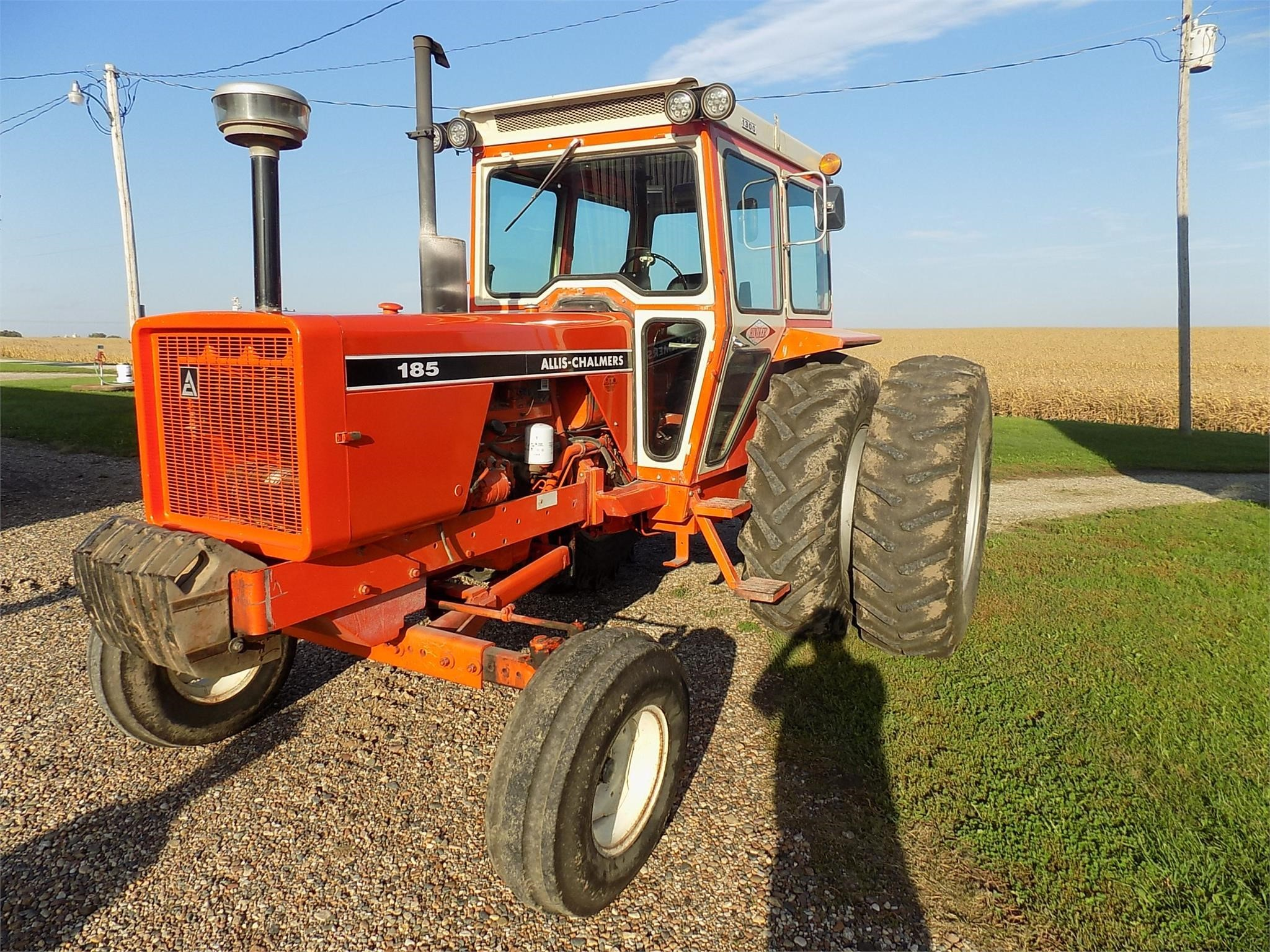 1980 Allis Chalmers 185 Tractor