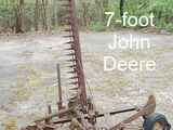 John Deere 7-foot sickle mower Model 5?