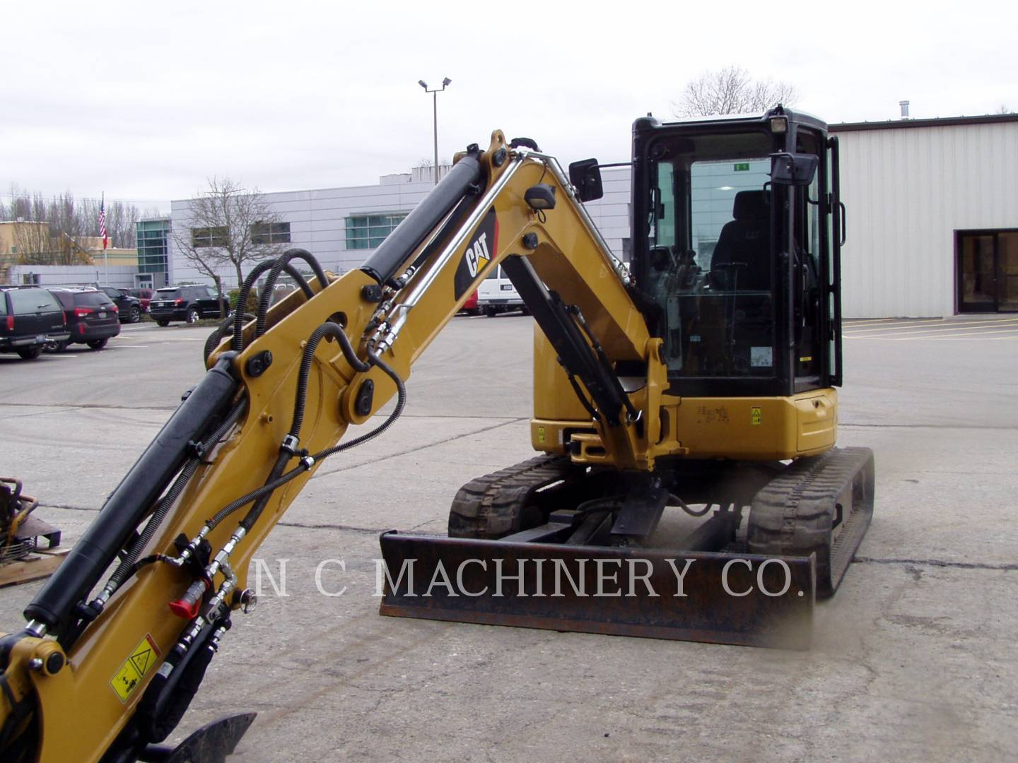 2016 Caterpillar 305E2 CRCB Excavators and Mini Excavator