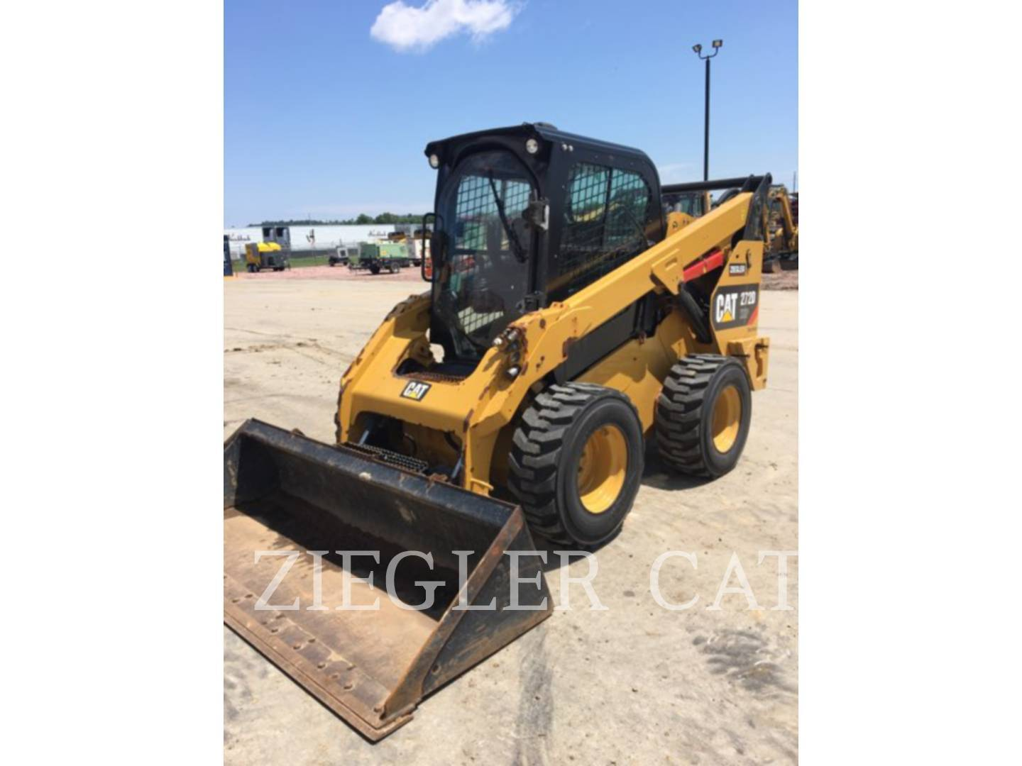 2014 Caterpillar 272DXHP Skid Steer