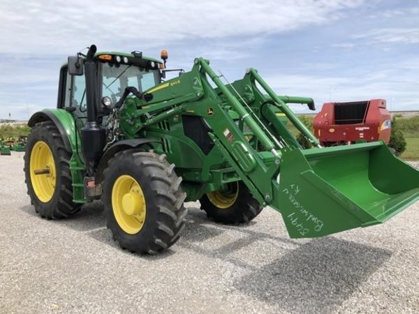 2017 John Deere 6145M Tractor