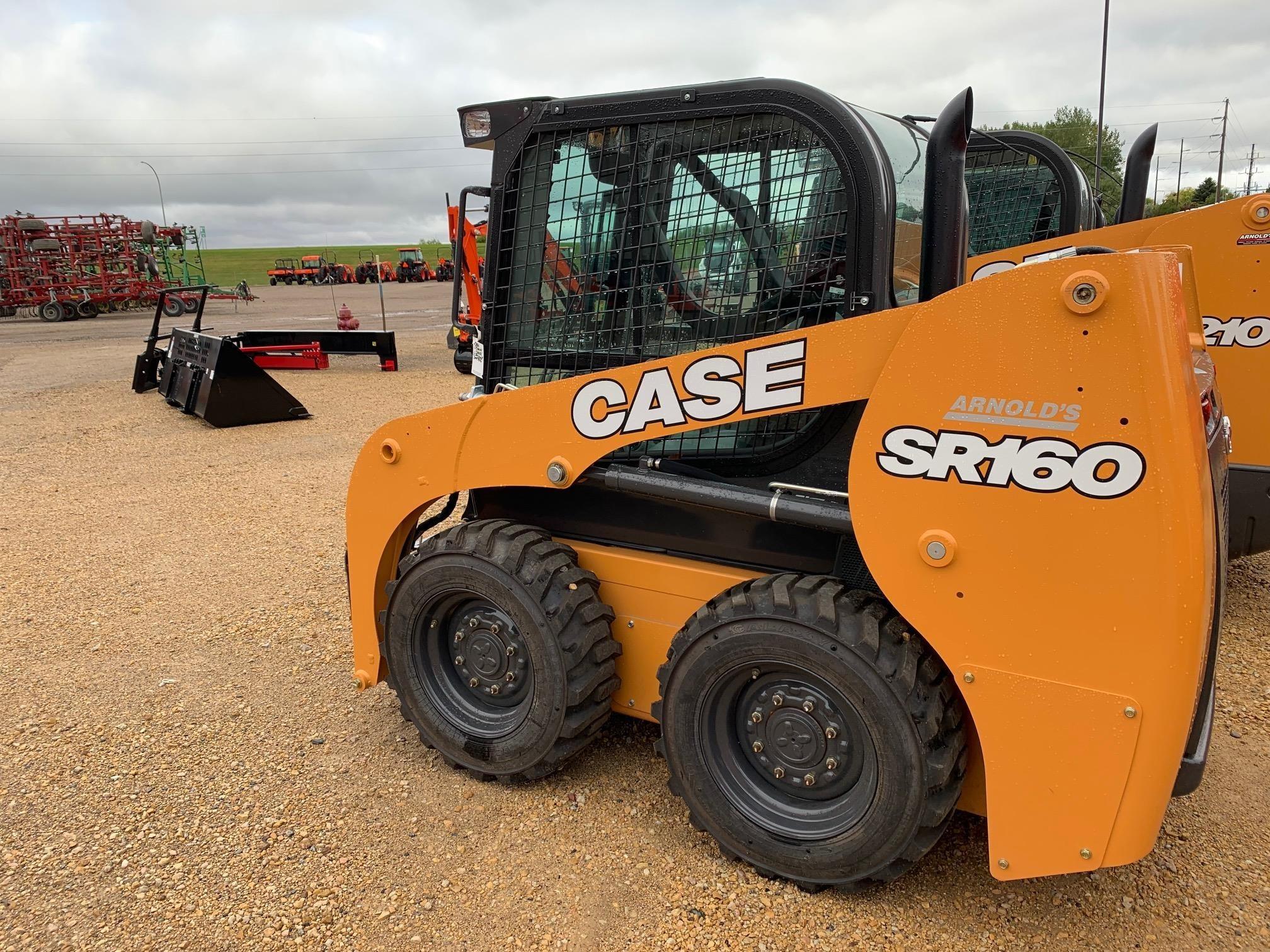 2018 Case SR160 Skid Steer