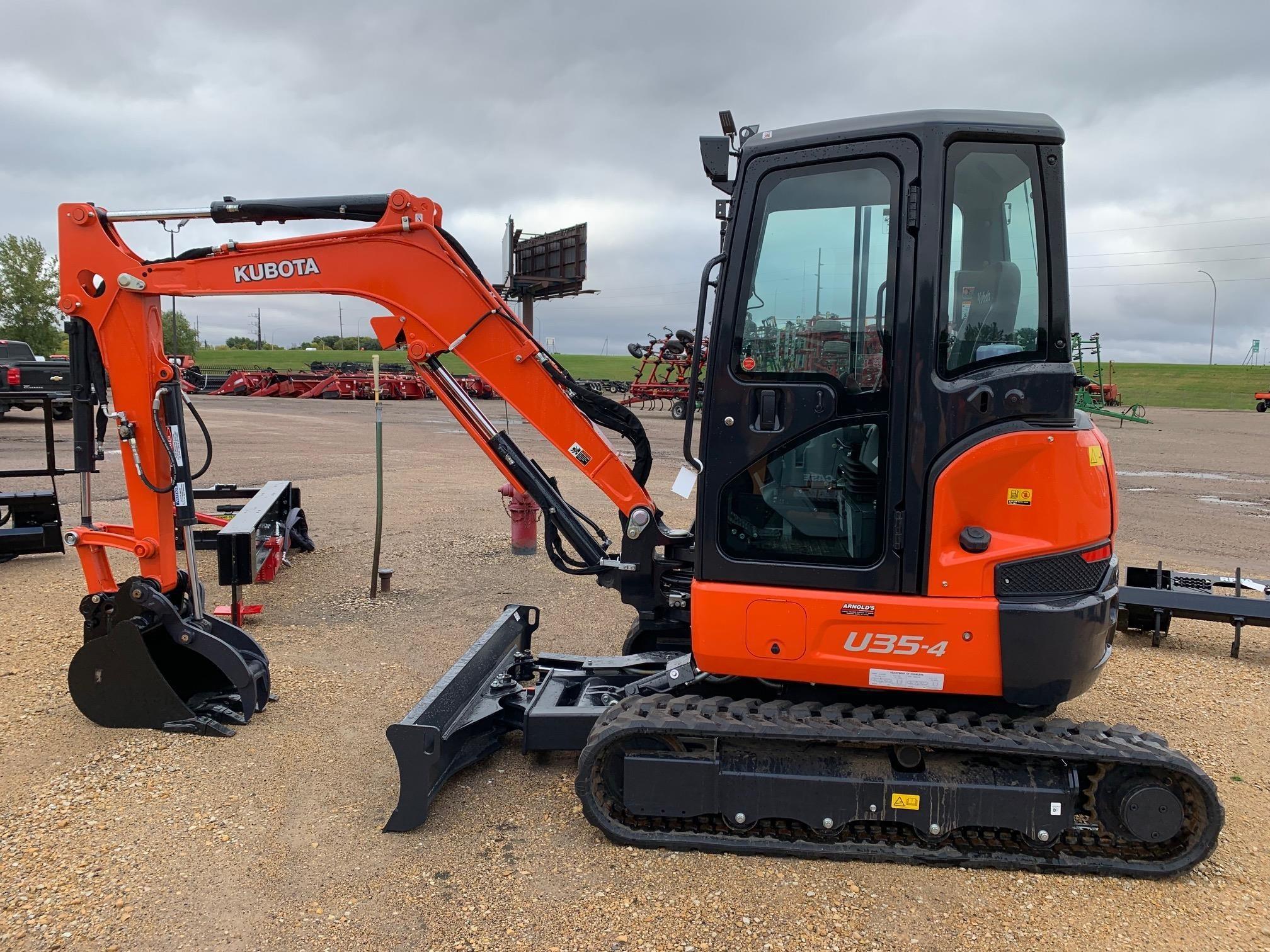 2019 Kubota U35-4 Excavators and Mini Excavator