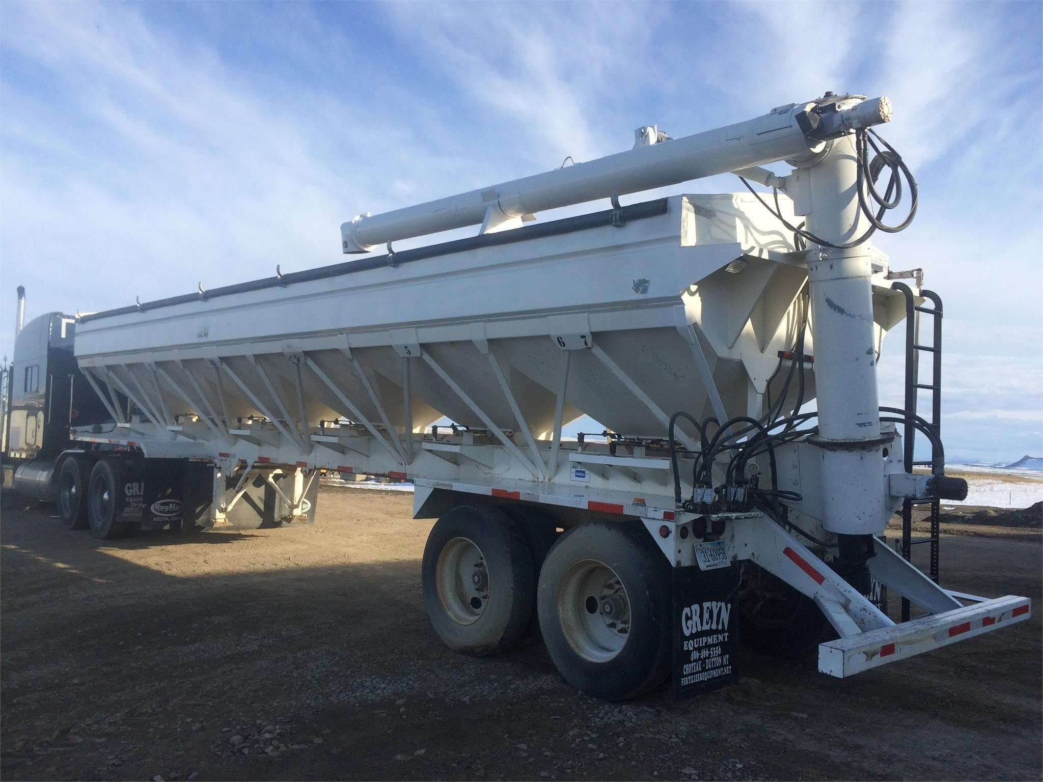2003 Ray-Man 24 CHARGER II-SF Pull-Type Fertilizer Spreader