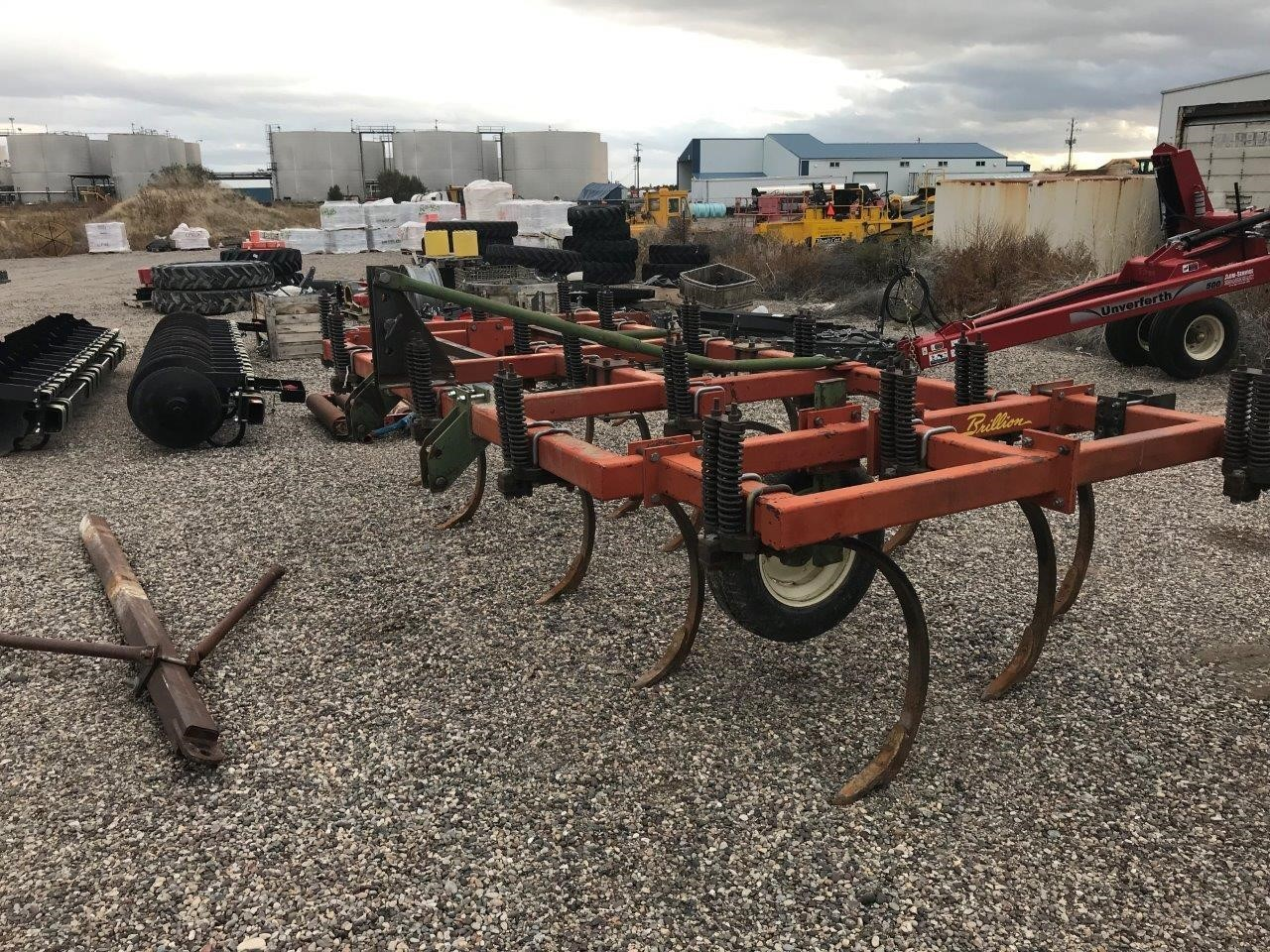 1980 Brillion CP1032 Field Cultivator