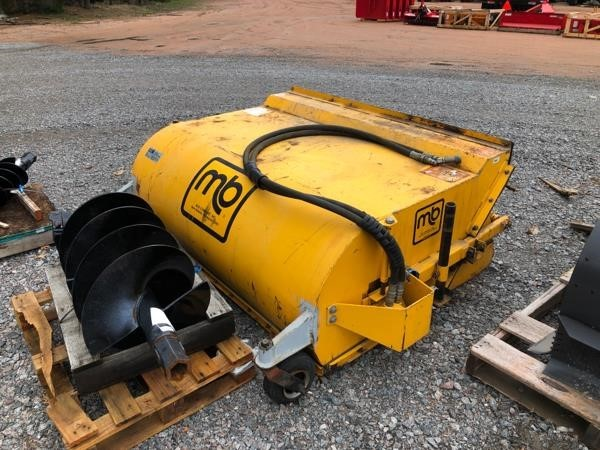 MacDon BROOM Loader and Skid Steer Attachment