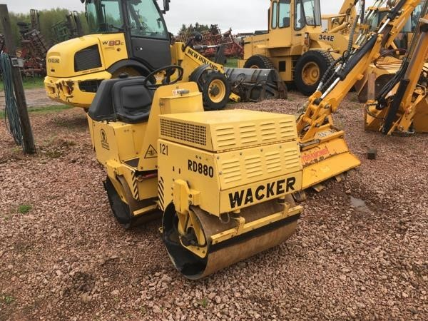Wacker Neuson RD880V Compacting and Paving