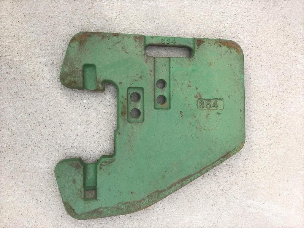 John Deere 100# Suitcase Weights Miscellaneous