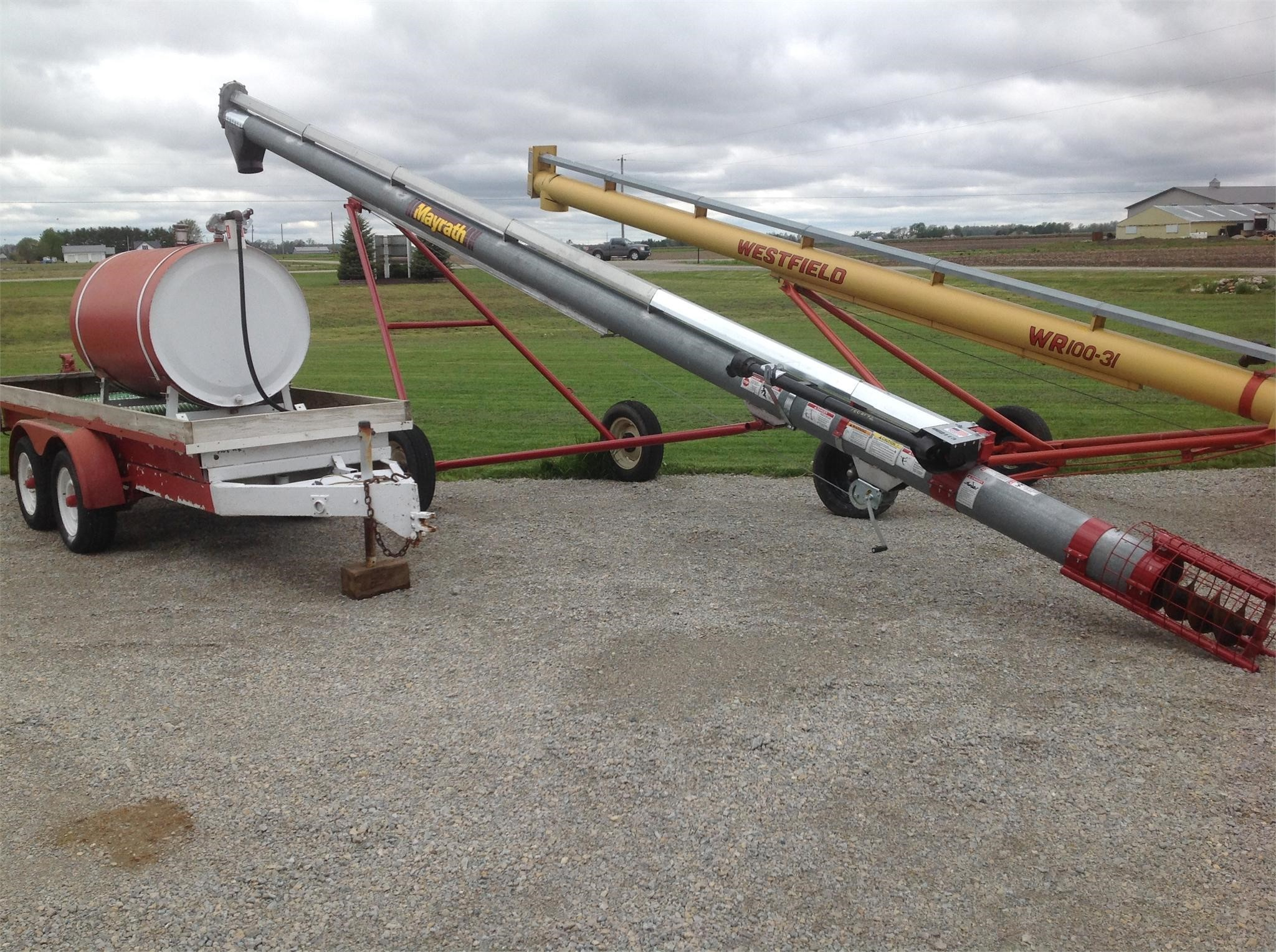 Mayrath 10x35 Augers and Conveyor