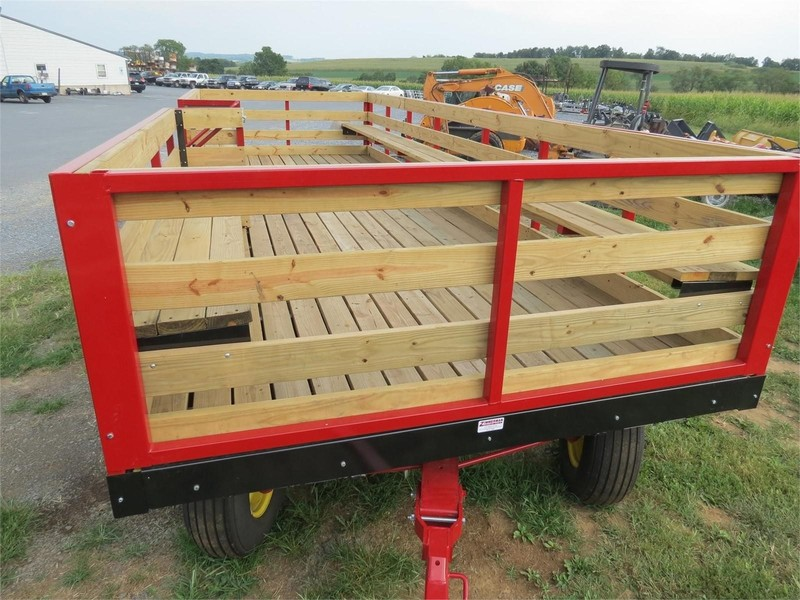 2019 Stoltzfus 8.5X24 Bale Wagons and Trailer