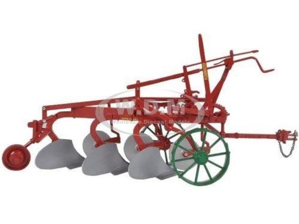 Oliver 3 bottom Plow Master on Steel Wheels Plow