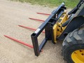 Jenkins 4 PRONG SQUARE BALE Loader and Skid Steer Attachment