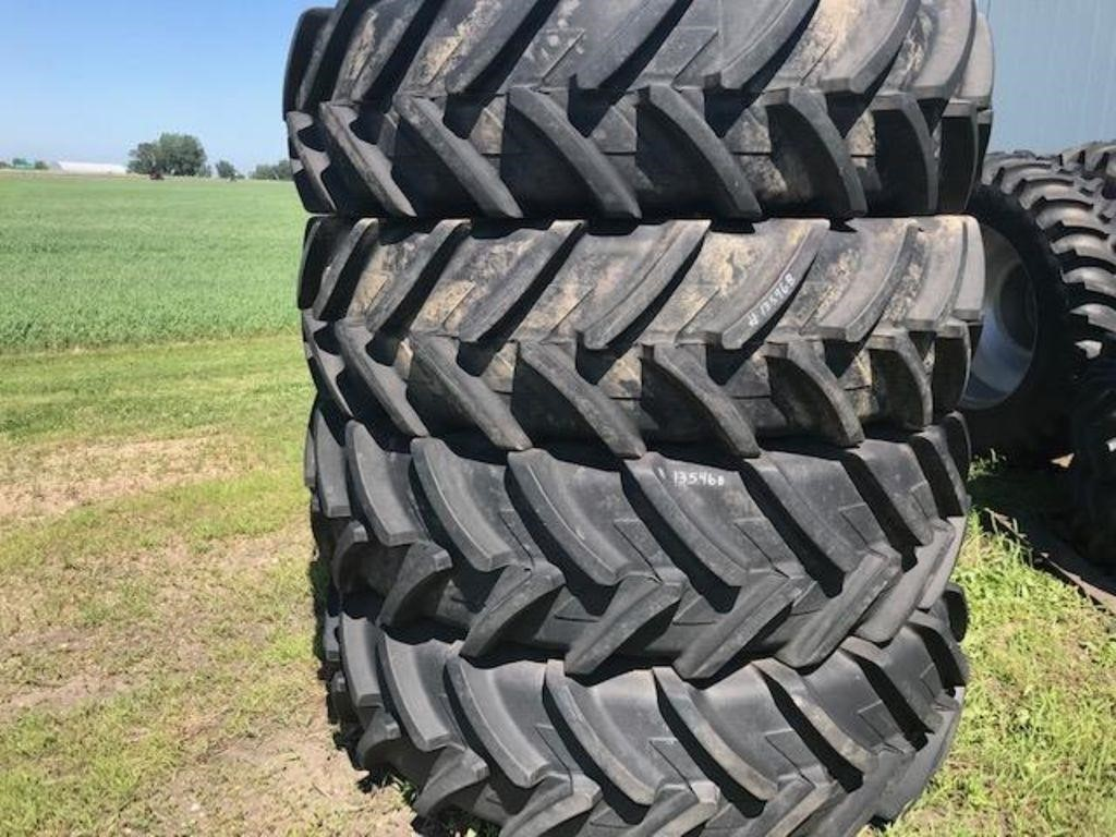 Michelin 520/85R46 TIRES WITH RIMS & SPACERS Wheels / Tires / Track
