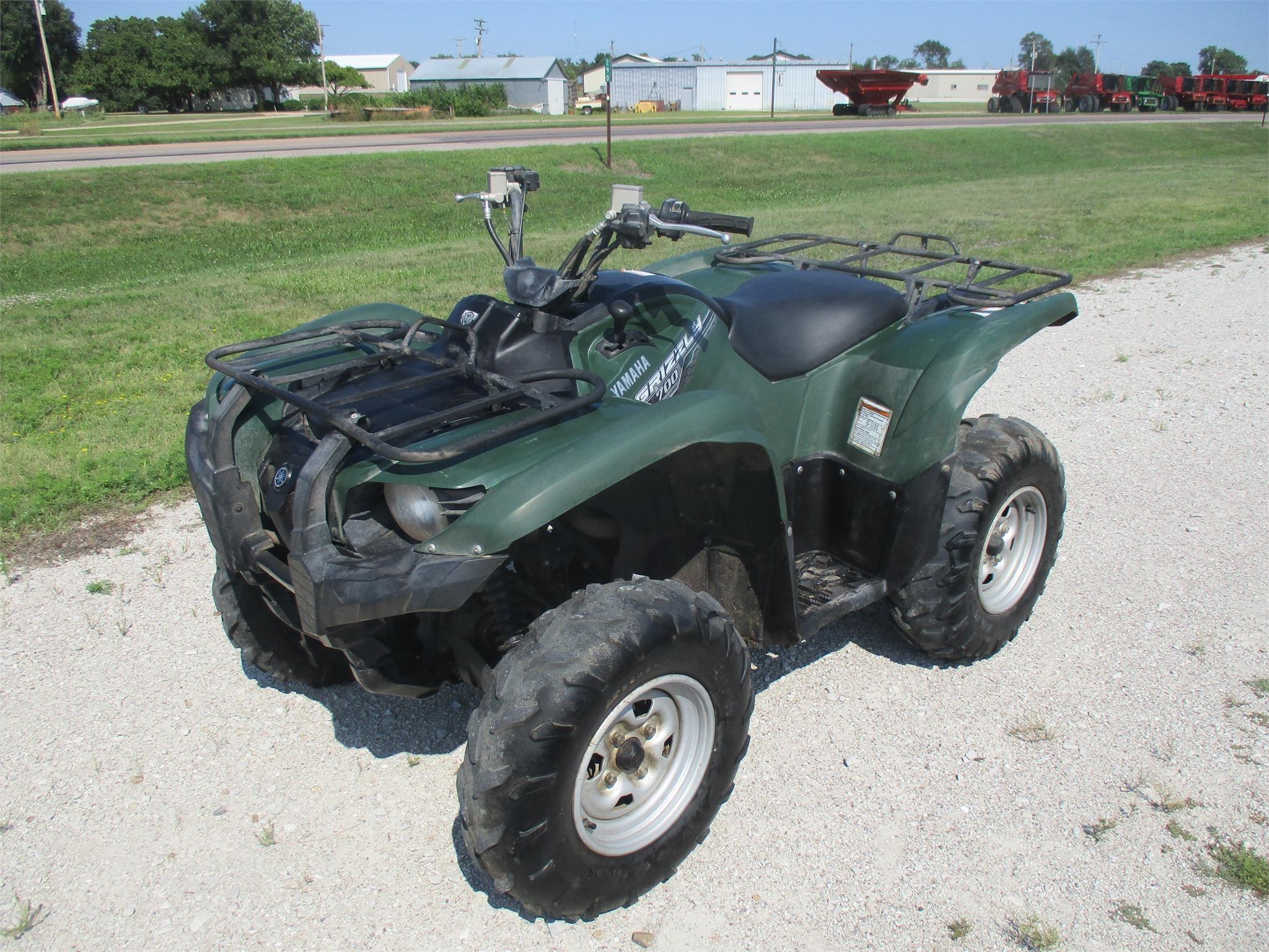 2015 Yamaha Grizzly 700EPS ATVs and Utility Vehicle