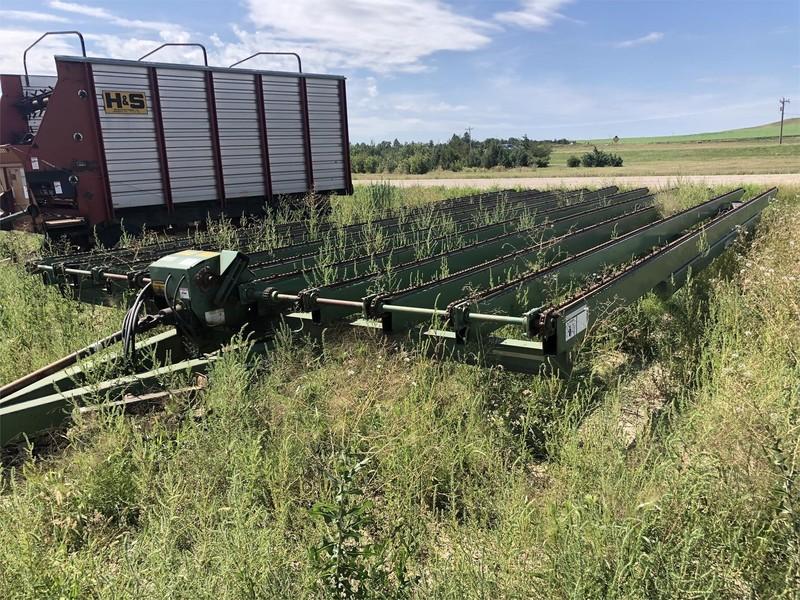 Lorenz 13X33 Bale Wagons and Trailer