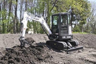 2020 Bobcat E26 Excavators and Mini Excavator