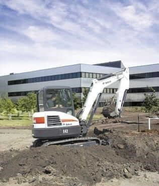 2020 Bobcat E42 Excavators and Mini Excavator