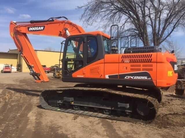 2020 Doosan DX225 LC-5 Excavators and Mini Excavator