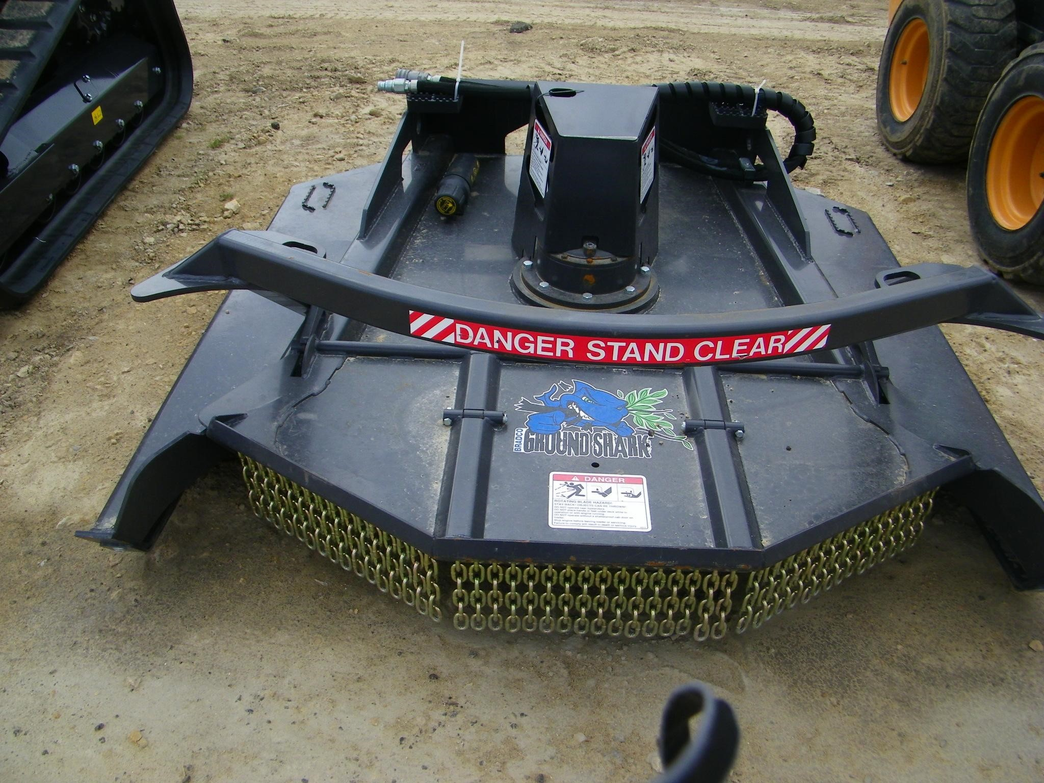 2019 Bradco Ground Shark Loader and Skid Steer Attachment