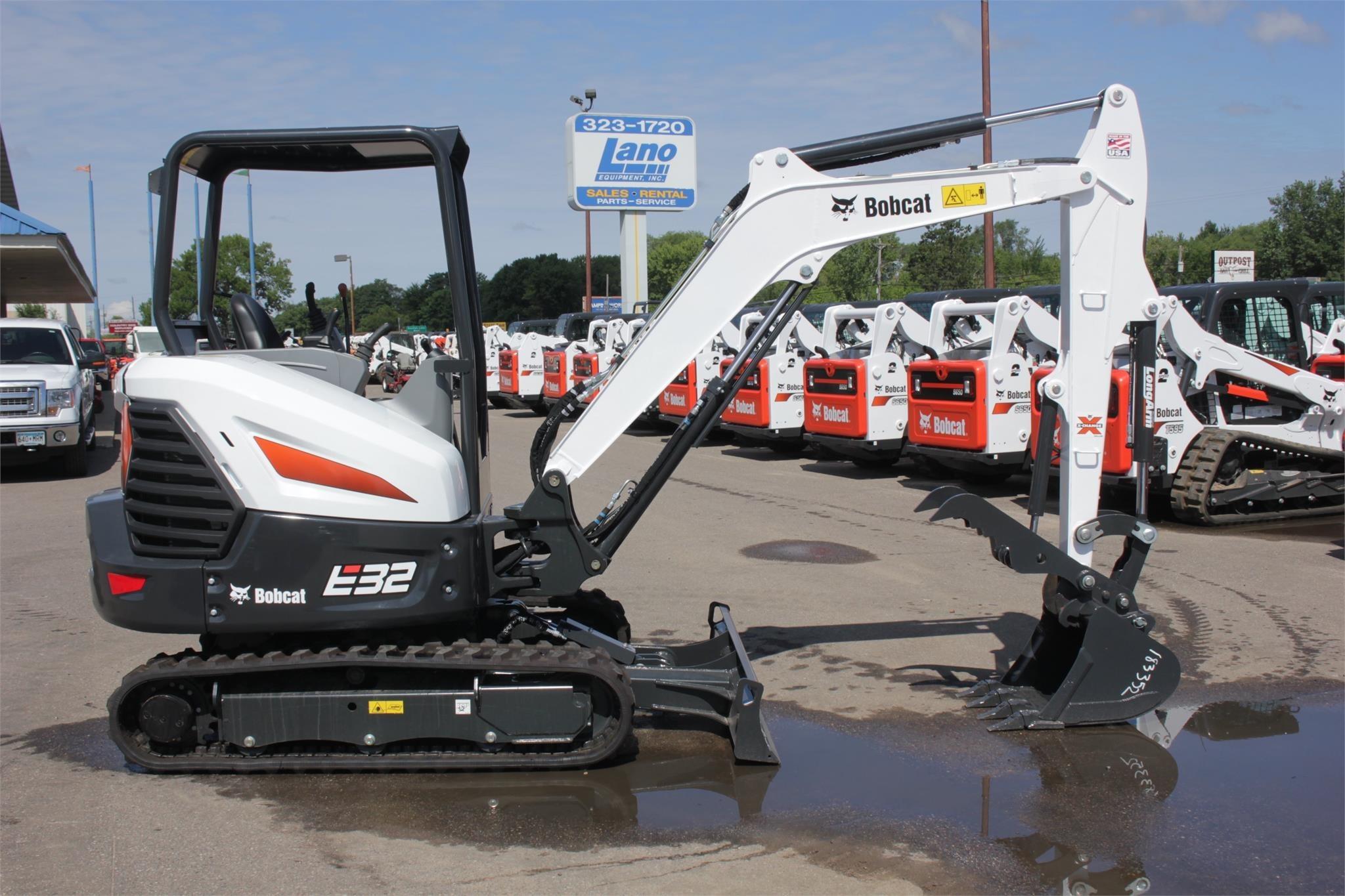 2020 Bobcat E32 Excavators and Mini Excavator