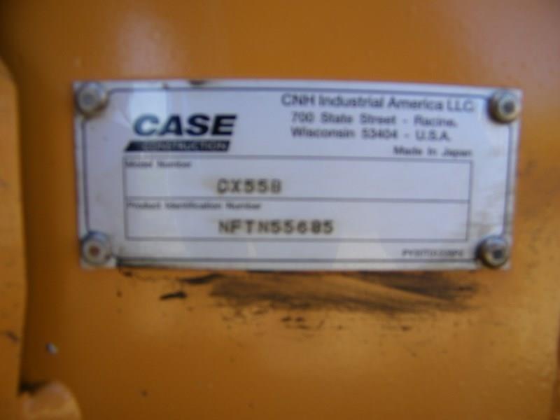 2015 Case CX55B Backhoe