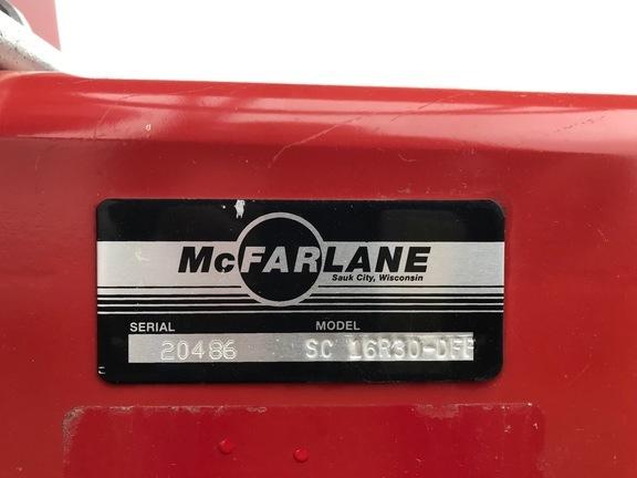 2018 McFarlane SC 16R30-DFF Flail Choppers / Stalk Chopper